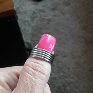 NWT Mens Stainless steel ring